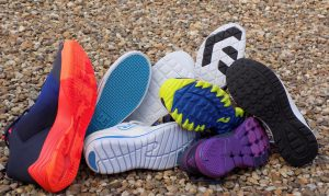 Running athletic shoes