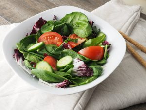 Vegan plan weight loss salad