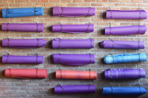Yoga mat for lose weight