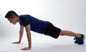 Exercise 2: burpees for weight loss