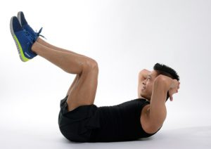 Crunches one of the 10 best exercises for weight loss