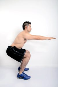 Exercise 3: Squats one of the 10 best exercises for weight loss
