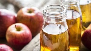 Add apple vinegar can be added to soups, salads, snacks.