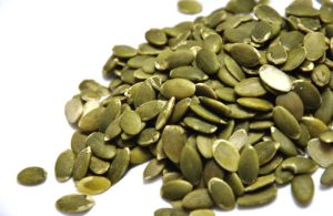 Pumpkin seeds are a great snack