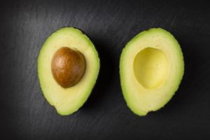 Avocados contain vitamin E, vitamin B complex