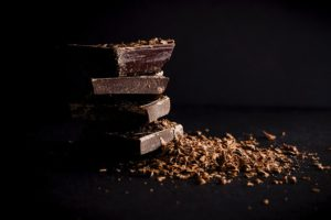 Dark chocolate is rich in antioxidants
