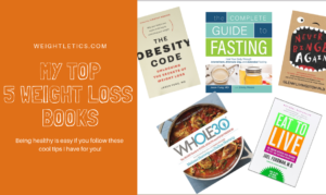 My Top 5 weight loss books