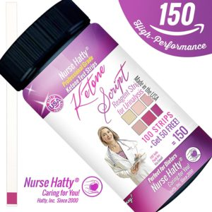 Nurse Hatty Ketone Strips