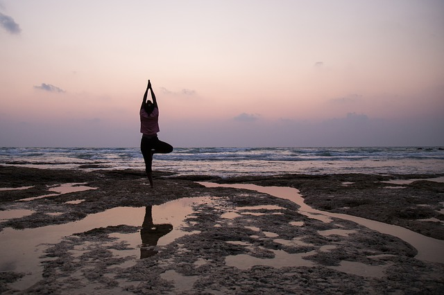Tree pose for beginners